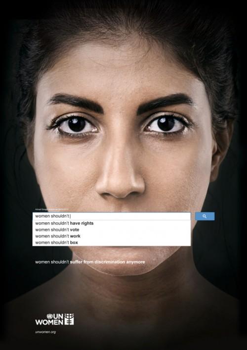 Google's sexist autocompletion UN Women